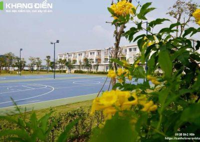 Sân tennis ở Lovera Park